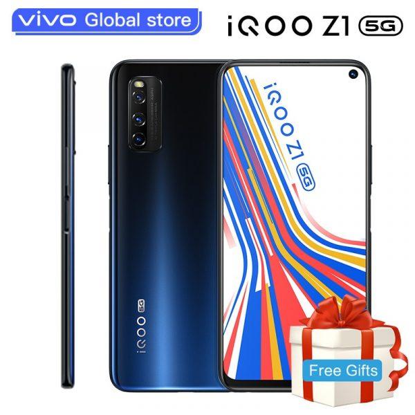 Vivo iQOO Neo-3 5G Smartphone 8GB + 128GB 144Hz High-brush Racing Screen 5G Stereo Hi-Fi UFS 3.1 Global Version Phone