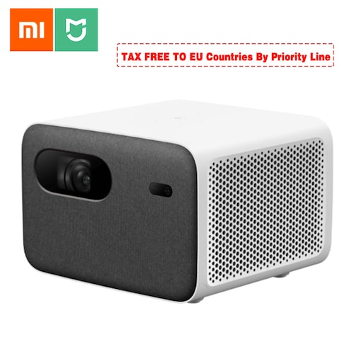Xiaomi 2020 Projector 2 Pro 16GB Non-Sensing Focus 200-inch HD 1080P 1300 ANSI Smart Home Theater