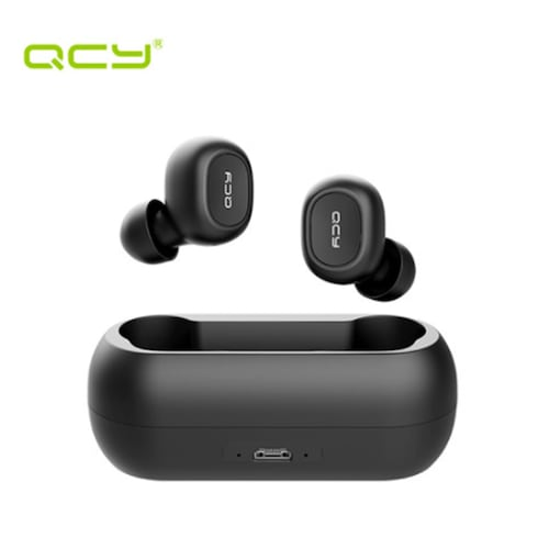 QCY T1C True Wireless Smart Earbuds Bluetooth 5.0 Voice Assistant HiFi Earphones With Charging Box