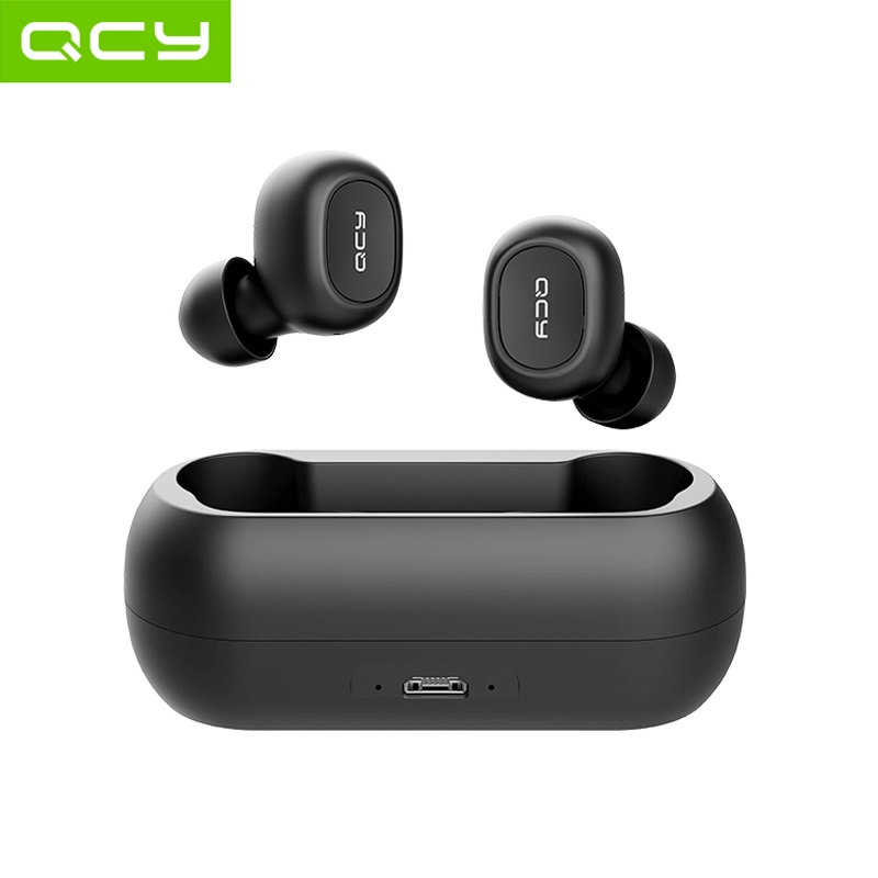 QCY QS1 TWS Bluetooth 5.0 Earbuds 3D Stereo Wireless Earphone With Dual Microphone