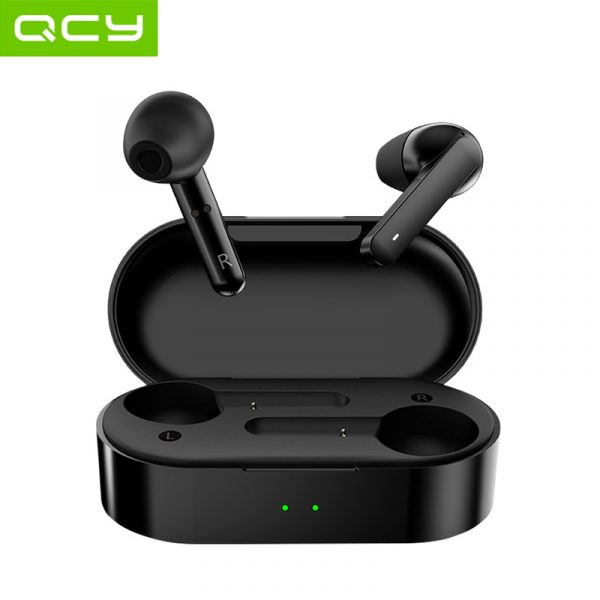 QCY T3 Bluetooth 5.0 Fingerprint Touch Headphones 3D Stereo Dual-Mic Wireless Waterproof earphones