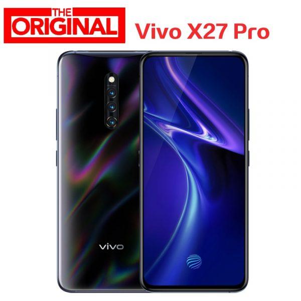 Vivo X27 Pro 4G Phablet 8GB + 256GB 32.0MP Front Camera Screen Fingerprint Sensor Smartphone