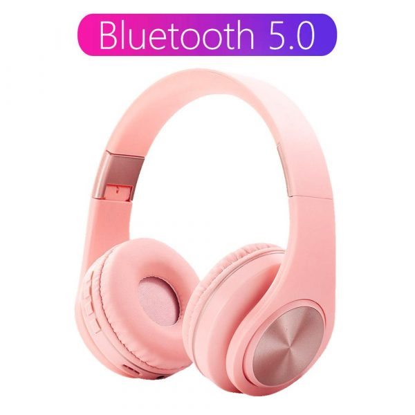 Tourya A1 Bluetooth 5.0 Headphone HD MIC Headset Support Tf Card Wireless Earphone