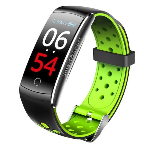 Tourya Q8S Smart Bracelet Heart Rate Waterproof Smartband Color Screen Sports Wristband
