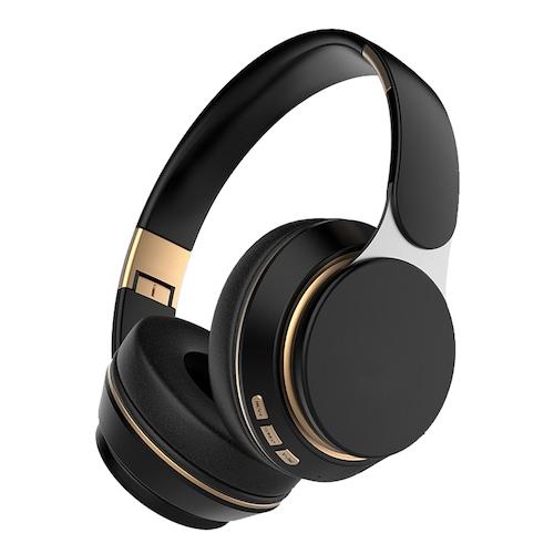 Tourya T7 Wireless Adjustable Headphones Stereo Bluetooth 5.0 Headset Foldable Earphone