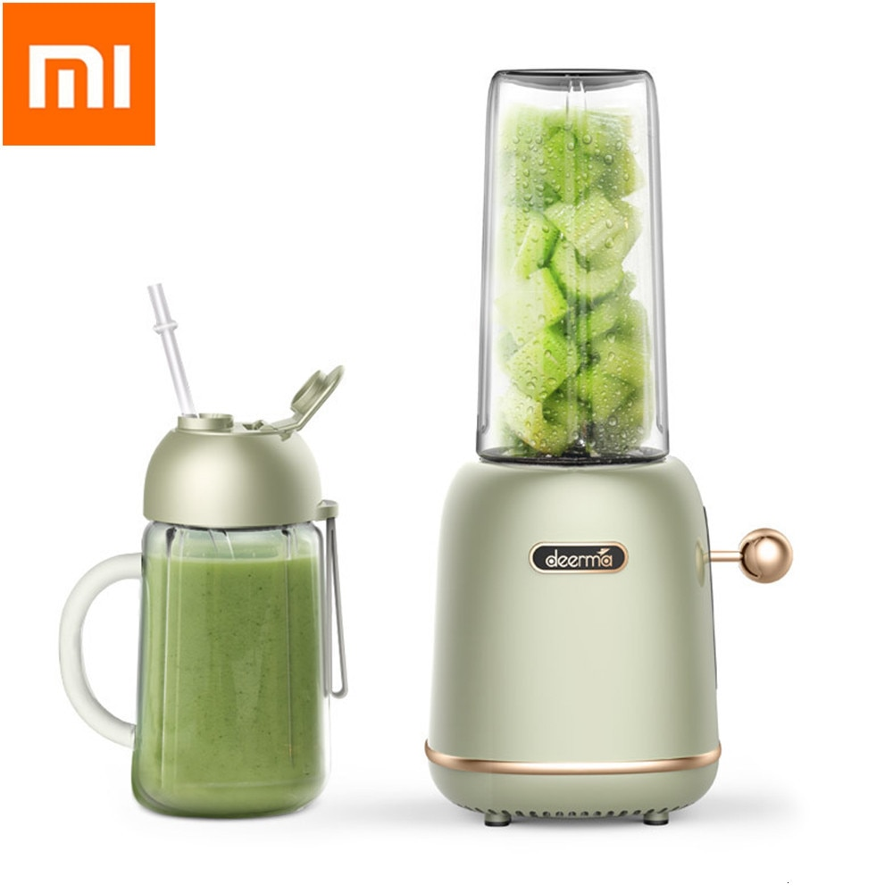 Deerma GZ30 Electric Pro Juicer 500ML Blender Automatic Functional USB Rechargeable Juice Cup Mixer