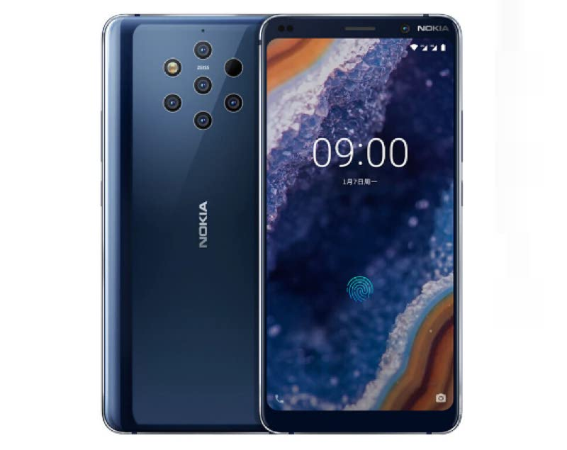 Nokia 9 Pureview 5.99-inch Fingerprint Smartphone 6GB RAM + 128GB ROM NFC Android Mobile Phone