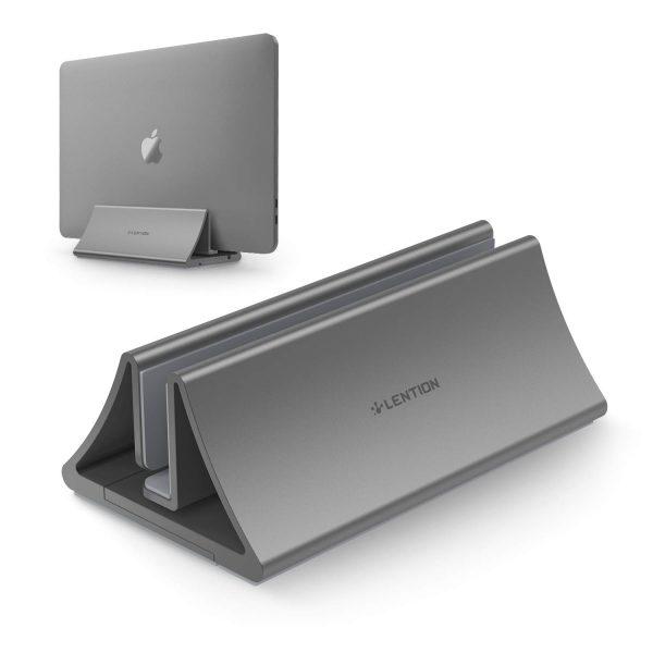 Lention LS1 Aluminum Vertical Laptop Stand