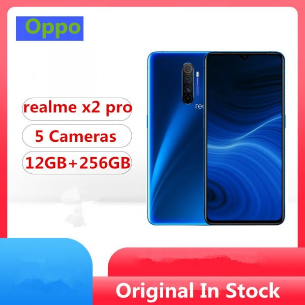 Realme X2 Pro Global Version Smartphone 6.5 inch FHD+ 8GB RAM 128GB ROM 4 Rear Camera Phone