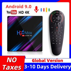 H96MAX Android 10 Voice Control TV Box
