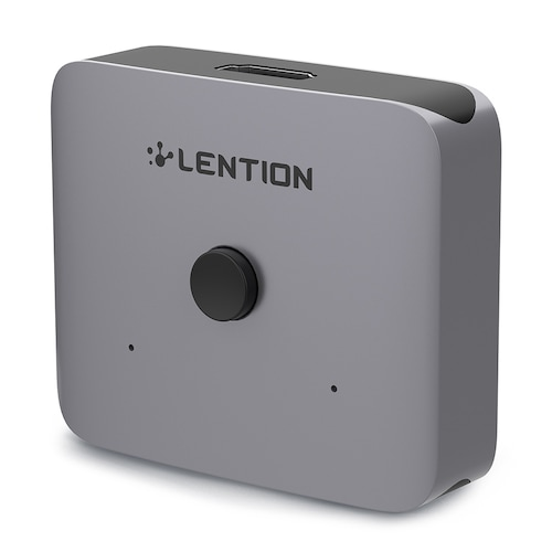 LENTION S31 Aluminum Splitter HDMI Bidirectional HDMI Switch 1 Input 2 Outputs Plug-Play for PC & Notebook