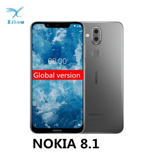 NOKIA 8.1 Global Version Smartphone 6.18-inch 4GB-6GB RAM 64GB-128GB ROM Fast Charge Mobile Phone