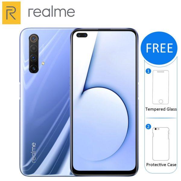 Realme X50 5G Smartphone 128GB-256GB ROM 8GB-12GB RAM 6.57-inch 4 Rear Camera Phone