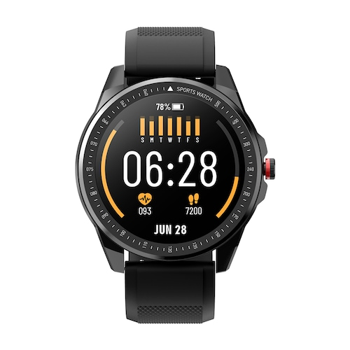 TICWRIS RS Waterproof Bluetooth 5.0 Smart Watch 1.3 inch Ultra-thin 9mm 50 Days Standby 31 Sports Modes Functional Smartwatch