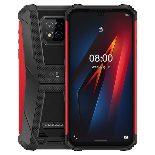 Ulefone Armor 8 Rugged 4G Smartphone Global Version 6.1 inch Helio P60 Octa Core 64GB ROM Waterproof Phone