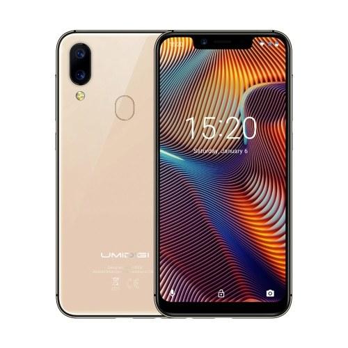 UMIDIGI A3 Pro Global Band 5.7-inch 19:9 FullScreen Smartphone 3GB + 32GB Face Unlock Dual 4G Phone
