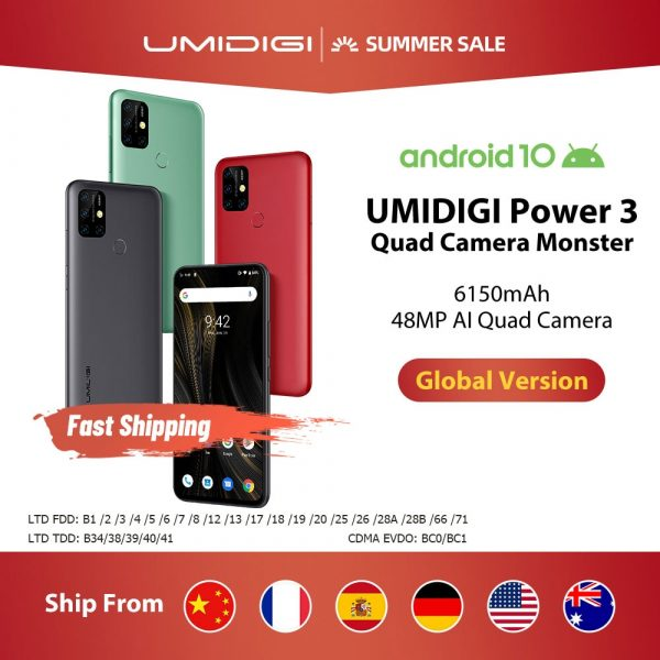 Umidigi Power 3 Smartphone