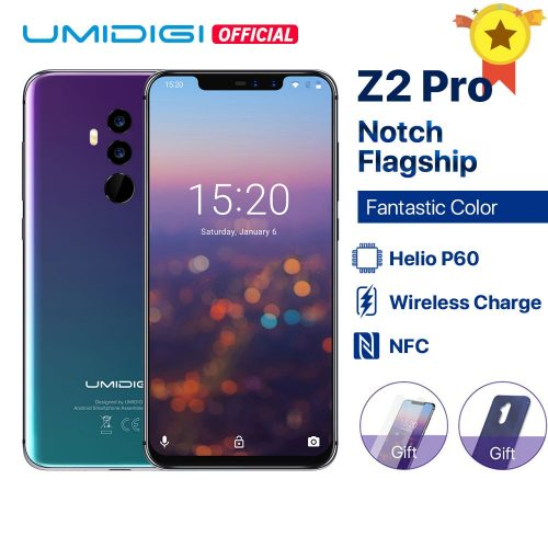 UMIDIGI Z2 Pro 19:9 6.2-inch Smartphone 6GB + 128GB Wireless Charge Face Unlock Global Bands Phone