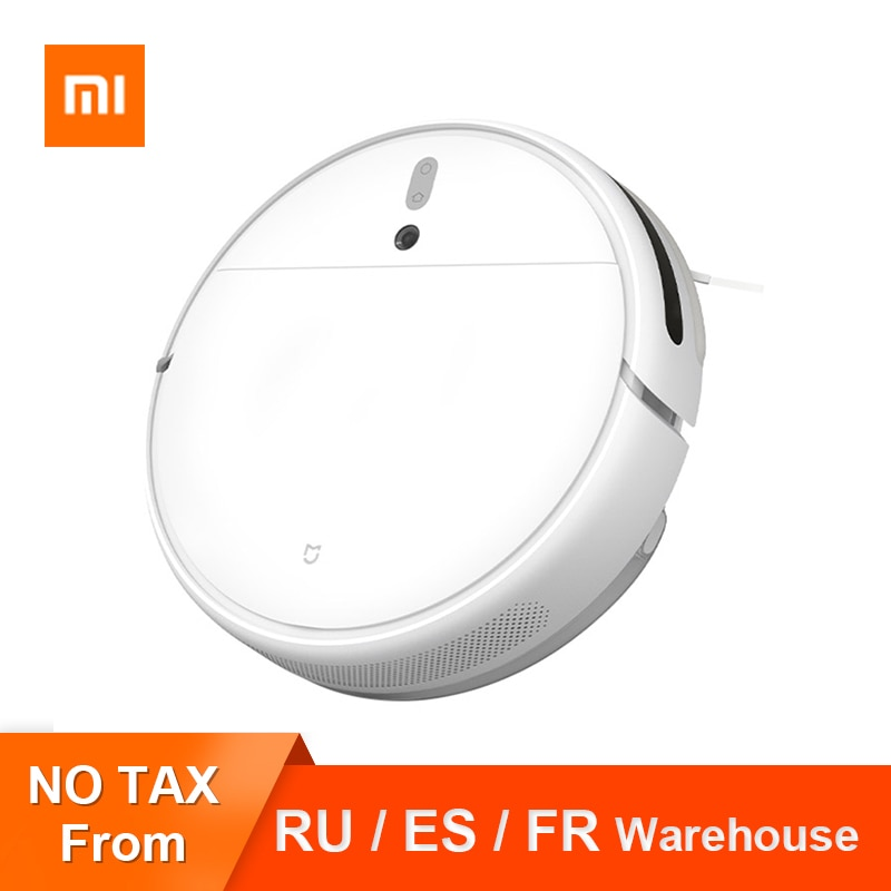 Xiaomi Mijia 1C Robot Vacuum Cleaner Visual Dynamic Navigation Brushless Motor APP Control Home Smart Auto Dust Sterilize