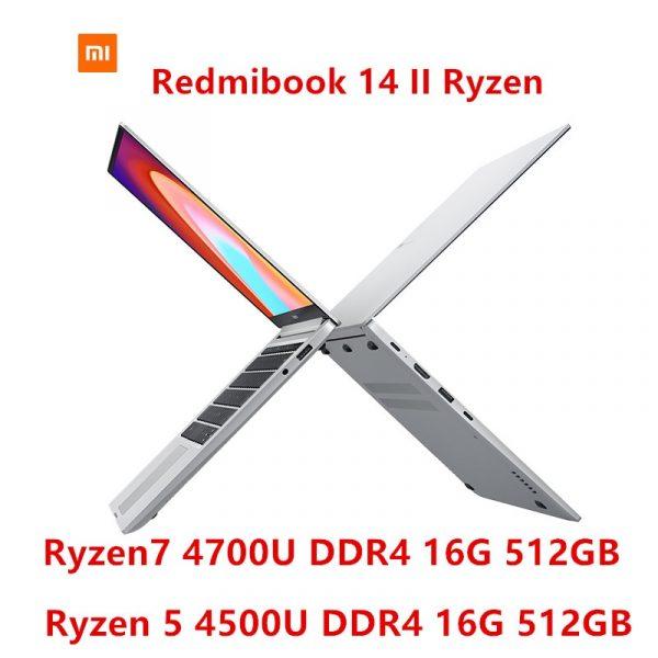 Xiaomi Redmibook 14 II Laptop 14-inch 8GB-16GB DDR4 512GB SATA SSD Notebook