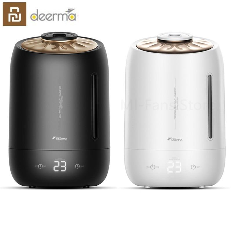 Deerma DEM-F600 Touch Screen Adjustable Air Humidifier Intelligent Large Screen Air Purifying Mist Maker