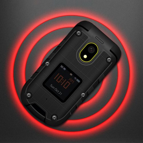 ioutdoor F2 Flip Rugged Feature Phone
