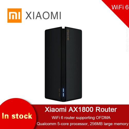 Xiaomi Router AX1800 Wifi 6 5-Core 256M Memory Mesh Home IoT 4 Signal Amplifier Dual Band Wider Mi Router