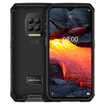 Ulefone Armor 9E 6.3 Inch Rugged 4G Smartphone IP68 IP69K Waterproof  8GB 128GB NFC 6600mAh Battery Phone