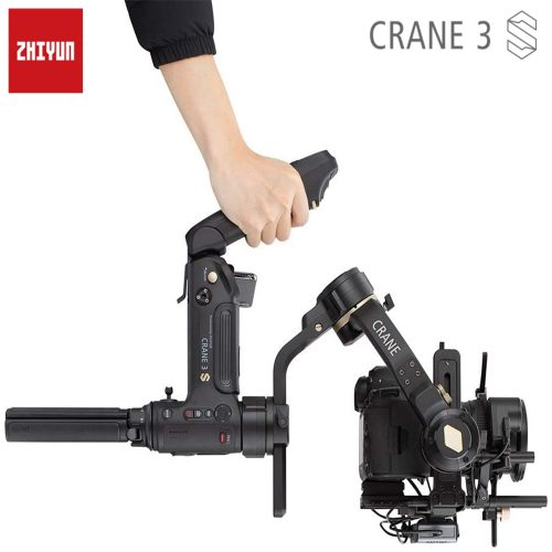 Zhiyun Crane 3S 3SE Pro 3-Axis 6.5kg Payload Handheld Gimbal Stabilizer for DSLR Cameras and Camcorder