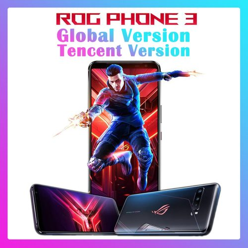ASUS ROG Phone 3 Gaming 5G Smartphone 6.59 inch Phablet Global Version 12GB + 256GB Big Capacity Phone