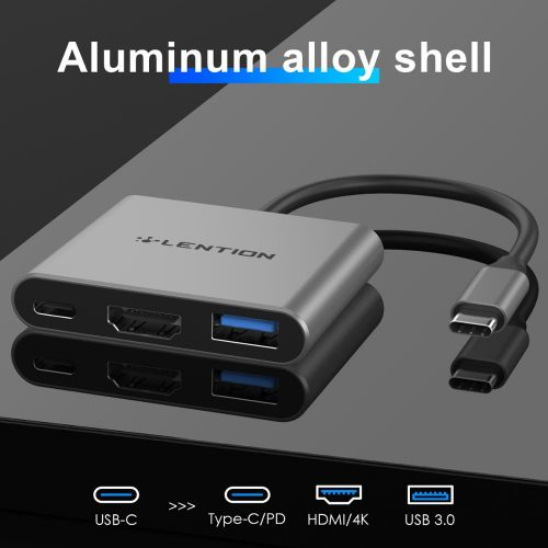 Lention CB-TP-C14H USB-C HUB to HDMI
