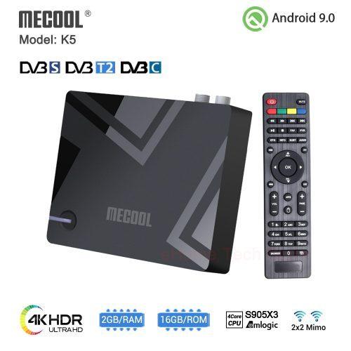 MECOOL K5 Hybrid TV Box