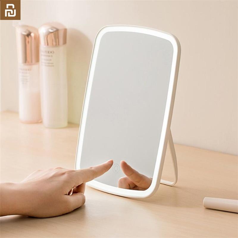 Xiaomi LED Makeup Mirror Touch-sensitive Natural Light Fill Adjustable Angle Brightness Lights Mirror
