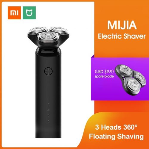 Xiaomi S300 3D Floating Electric Shaver Dual Layer Blade Waterproof Dry Wet Razor Beard Trimmer