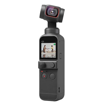 DJI OSMO POCKET 2 Gimbal Camera 4K HD 60fps FOV 93 Degree 64MP Images camera AI Editor Stereo Recording