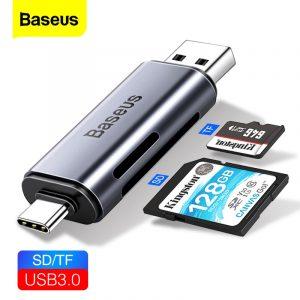 Buy Baseus 2 in 1 Memory Card Reader
