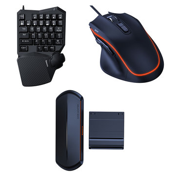 BASEUS GM01 GAMO 9 Programmable Buttons Game Mouse 6400 DPI Comfortable Streamlined Design Gaming Mouse