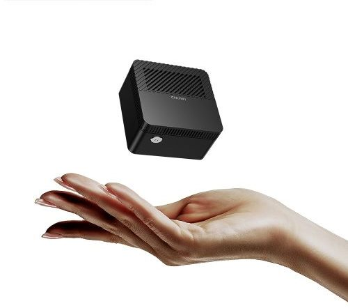 CHUWI LarkBox Pro Portable World Smallest 4K Mini PC 6GB LPDDR4 + 128GB ROM WiFi 1000Mbps BT5.0 Win 10 PC