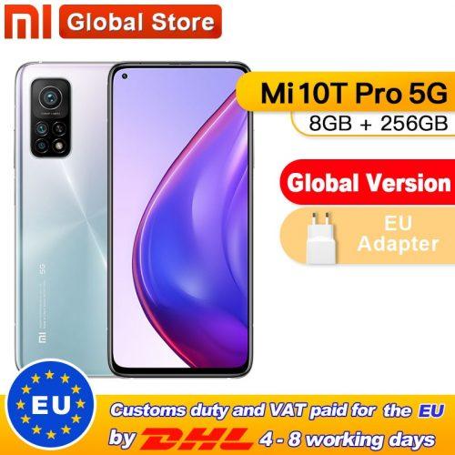 Xiaomi Mi 10T Pro 5G Smartphone 108MP Triple Camera 8GB 128GB NFC 5000mAh Global Version Phone
