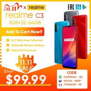 Realme C3 Smarthone