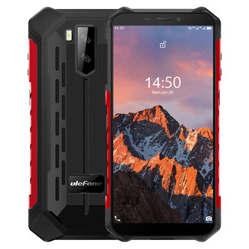 Ulefone Armor X5 Pro Rugged Waterproof Smartphone 4GB + 64GB NFC 4G LTE Phone Global Version Phone
