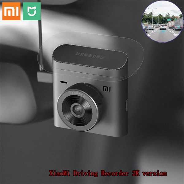 Xiaomi Mijia Car DVR 2 2K Ultra Clear 140° Ultra Wide Angle Intelligent Voice Control Night Vision Dash Cam