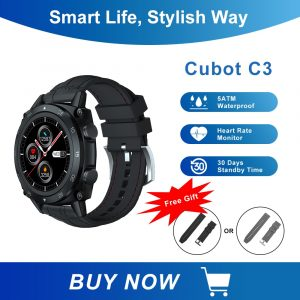 Cubot C3 Touch Fitness Watch