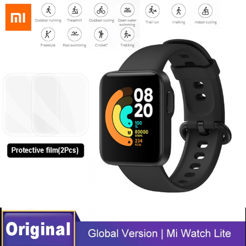 Xiaomi Mi Watch Lite Global Version GPS Glonass 1.4 inch Screen Bluetooth 5ATM Waterproof Smartwatch