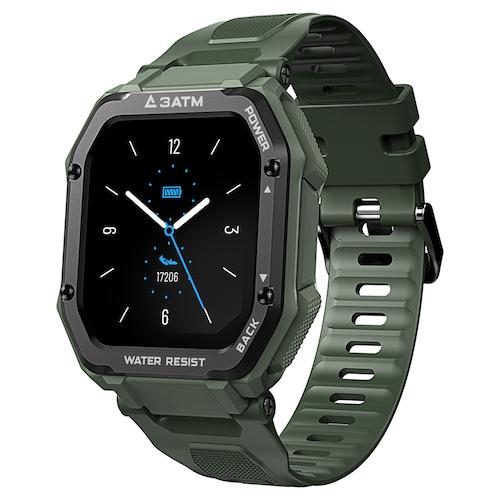 Kospet Rock 1.69 inch Smart Watch SPO2 Monitor 20 Sport Modes Bluetooth 5.0 Three-Proof Outdoor Smartwatch