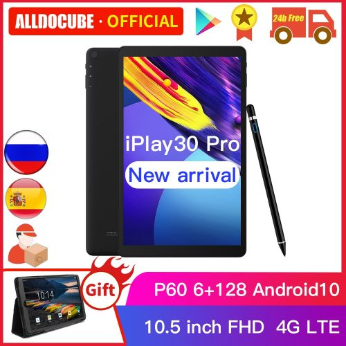 ALLDOCUBE iPlay30 Pro 10.5 inch Tablet PC 6GB + 128GB ROM 4G LTE phonecall iPlay 30 Android 10 Tablet