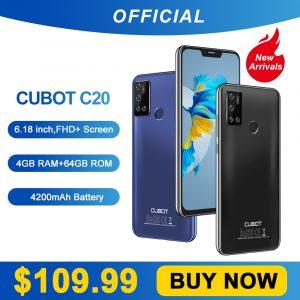 Cubot C20 Smartphone