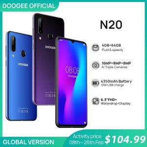 DOOGEE N20 Pro Global Version 4G Smartphone