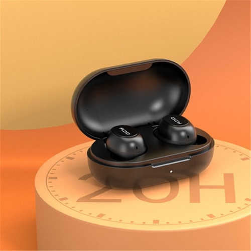 Qcy T9S Bluetooth Earphones TWS Mini Wireless Bluetooth Stereo Headphones with Exclusive