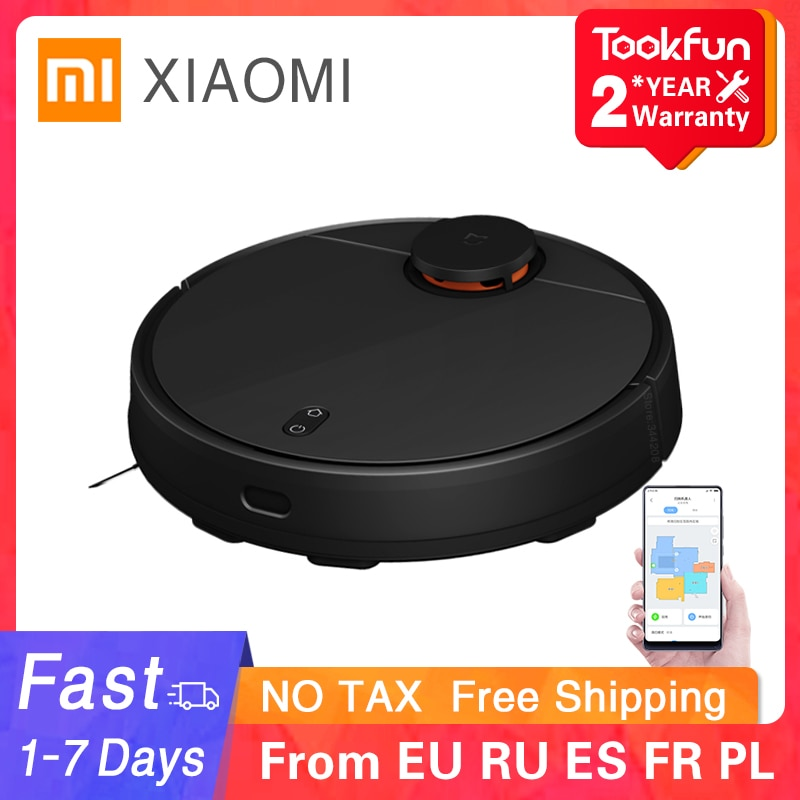 XIAOMI Robot STYJ02YM Sweeping Mopping Vacuum Cleaner Smart Planned Mi Robot PRO Home Cleaning Robot